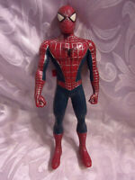 """2006 Marvel Spider Man Action Figure Talking Comic Book 12"""" Toy"""