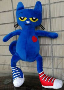 """Pete the Cat Character 12"""" Stuffed Animal Cartoon Plush Toy Game Doll"""
