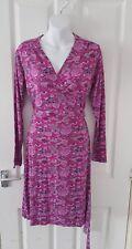 Wrap dress size 14 pink cherokee floral