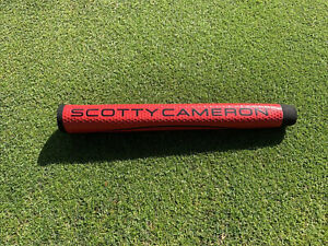 Authentic Titleist Scotty Cameron Matador Medium Putter Grip Red Studio Design