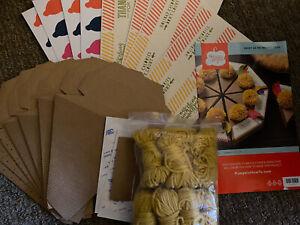 Stampin Up Sweet as Pie Paper Pumpkin Thanksgiving Box Kit REFILL Partial 7pc
