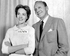 Julie Andrews and Jack Benny at Rehearsal for TV 'The Jack Benny Hour' Photo
