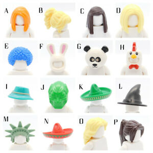 LEGO AUTHENTIC VARIETY HAIR AND HATS FOR  MINIFIGURES PICK THE ITEMS YOU WANT