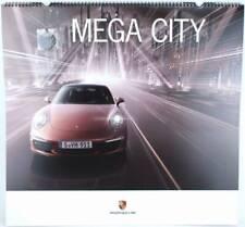 "Porsche Kalender ""MEGA CITY 2013"" inkl. Sammler - Münze - OVP"