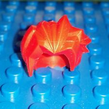 LEGO Accessory Minifigure ONE Hair Bright Red Spike Spiky Wig  headgear