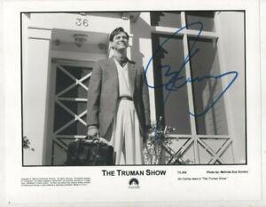 10 x 8  photo  hand signed JIM CARREY TRUMAN SHOW   - AFTAL COA  - undedicated -