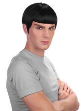 Spock Perücke schwarz NEU - Karneval Fasching Perücke Haare