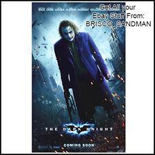 Fridge Fun Refrigerator Magnet BATMAN DARK KNIGHT Movie Poster D JOKER
