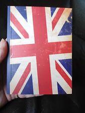 A6 Vint Union Jack Forrado portátil para personalizar Cintas & encantos Journal etc.