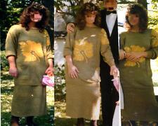 TRAUMSCHÖN Edles Traumkleid  2-tlg Luxus Strickkleid Gr 38 aus Boutique Hochzeit