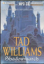 Audio book - Shadowmarch by Tad Williams   -   MP3-CD