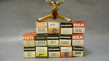3A3C 3AW2A 3CN3B 3DB3 / 3CY3 3DF3 3DH3 3DJ3 34CE3 / 34CD3 Vacuum Tubes Lot of 14