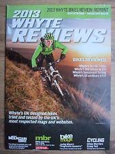 2013 WHYTE MOUNTAIN & URBAN BIKES REVIEWS MAGAZINE ~ NEW