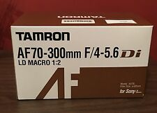 AF 70-300mm F/4-5.6 Di LD MACRO 1:2 lens for Sony **BRAND NEW SEALED BOX....