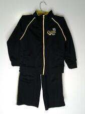 Oshkosh B gosh 2 piece set boys black and neon green jacket and pants size 5