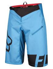 Fox MTB Demo DH Mens Shorts Mountain Bike - Cyan All Sizes 32 Inch