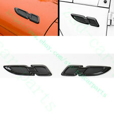 2x For Jeep Wrangler Renegade Compass Patriot Cherokee Front Cover Decorate Trim