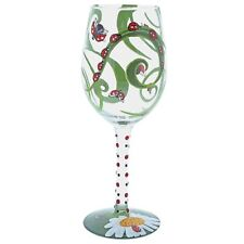 Lolita 6001626 Ladybird Bug Insect Wine Glass