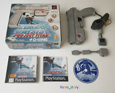 Sony Playstation PS1 - Time Crisis Project Tintan + G-Con 45 Pack - PAL