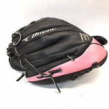 "Mizuno Youth Fastpitch Softball Glove GPP 1105 11"" RHT Black Pink 323a"