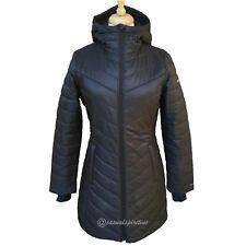 Womens Columbia Morning Light II Omni Heat Long Winter Jacket Coat Black M