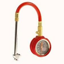 ARB SMALL DIAL TIRE GAUGE ARB506 Fully Geared, Flexible Hose With Dual Chuck