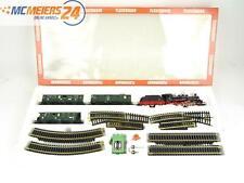E135 Fleischmann H0 351 6374 Startset 32-tlg. Dampflok + Personenwagen + Gleise