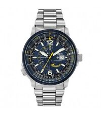 Citizen Men's Eco-Drive Promaster Nighthawk Blue Angels Watch BJ7006-56L