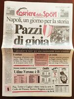 CORRIERE DELLO SPORT 30 04 1990 NAPOLI VINCE IL 2° SCUDETTO MARADONA 4 APRILE