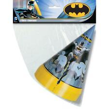 Batman Party Hats, 8ct