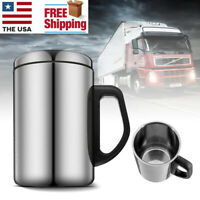 Unbreakable Stainless Steel Insulated Thermal Travel Mug Coffee Water Tea Cup US