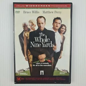 The Whole Nine Yards DVD - Bruce Willis, Matthew Perry - Region 4 -TRACKED POST