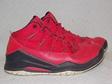 Youth Size 6.5 Y 2013 Jordan Prime Flight Red Basketball Shoes 616593-605