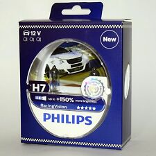 H7 +150 PX26d Philips RacingVision +150% 12972RVS2 Racing Vision X-Treme