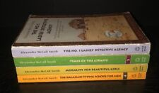 Lot of 4 Alexander McCall Smith LADIES' NO. 1 DETECTIVE AGENCY 1-4
