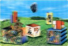 3D Greeting Card - Lenticular Postcard - Famous DADAIST Art Collage