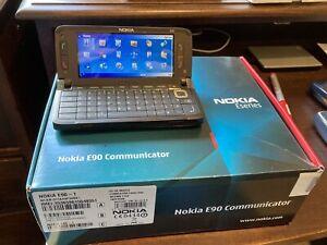 Nokia E90 Communicator - Mocha (O2) Smartphone
