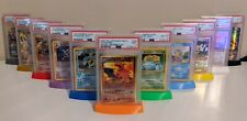 PSA Card Stand - 3.5 x 2.5in Graded - Pokemon, Sports - 3D Print - Request Color