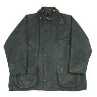 BARBOUR Beaufort Wax Jacket   Waxed Waterproof Rain Outdoors Zip Vintage