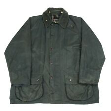 BARBOUR Beaufort Wax Jacket | Waxed Waterproof Rain Outdoors Zip Vintage