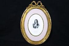 Portrait en buste de George Sans / engraving portrait of George Sand