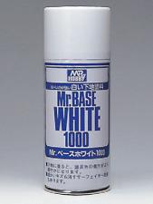 GSI Creos - Mr Hobby #B518 Mr. Base White 1000 Spray Primer (180ml)
