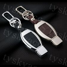 Metallic Smart Key Case Holder Bag Shell For Benz W166 W205 W212 W222 X204 W218