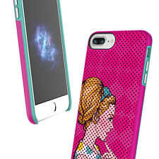 """Prodigee Muse Pop Pink Teal iPhone 7 PLUS 5.5"""" Art Case Thin Slim Cover"""