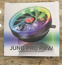 Raijintek Juno Pro CPU Air Cooler Rainbow LED Intel AMD Gaming READ DESCRIPTION