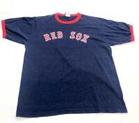 Boston Red Sox Majestic MLB T-Shirt Navy Size XL Williams #9
