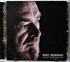 CD Mac Wiseman Most Requested Bluegrass In the Pines Oklahoma Hills Kentucky