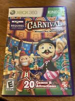 Carnival Games Monkey See, Monkey Do Xbox 360 Kids Kinect Game Rare Circus Clean