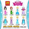 F010-017 Prinzessin Mädchen Serien Elsa Ariel Alana Godmother Cinderella 8PCS