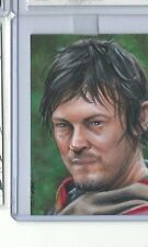 AWESOME WALKING DEAD SKETCH CARD DARYL DIXON By Jim Kyle